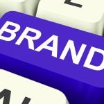 Brand Key Showing Branding Trademark Or Label